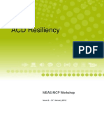ACD Resiliency Workshop (MEAS-MCP)
