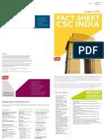 CSC India Factsheet 2012 v4