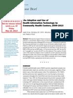 Commonwealth Fund EHR Survey