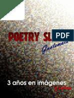 Libro Poetry Slam 3 Años en Imagenes y Letras