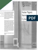 Nuclear Magnetic Resonance - P.J. Hore