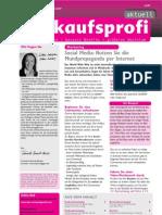 "Social Media Einleitung - Artikel in ""Der Verkaufsprofi"""