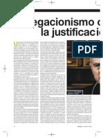 El Negacionismo Como La Justificacion Del Mal por Dario Richarte