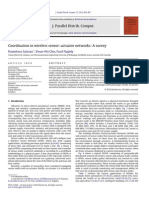 Coordination in Wireless Sensor–Actuator Networks - A Survey