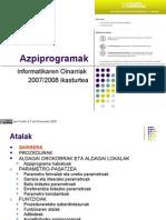 3  Azpiprogramak