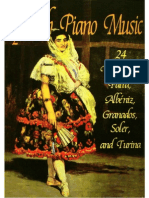 Spanish Piano Music - 24 Works