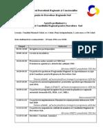 Agenda CRD Sud 19.06.2014