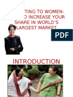 Marketing to Women-how to Increase Your Share In