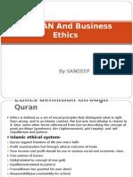 QUARAN and Business Ethics