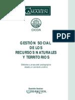 2002_Sexton_La Gestión Social de Los Recursos Naturales y Territorios