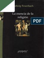 Feuerbach Ludwig - La Esencia de La Religión (Clases)