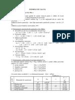 Exemplu de Calcul  COEfICIENT GLOBAL DE IZOLARE TERMICA  G