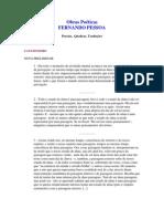Fernando Pessoa Obras Poéticas