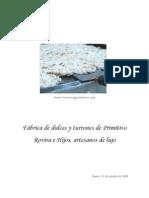 DdP La Fábrica de Primitivo Rovira e Hijos. Octubre 09