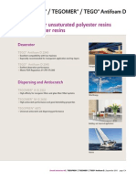 Additives for Unsaturated Polyester and Vinyl Ester Resins