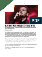 Let the Spiritique Move You - Sami Yusuf