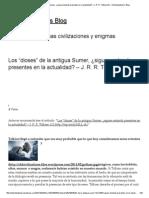 """Los """"Dioses"""" de La Antigua Sumer, ¿Siguen Estando Presentes en La Actualidad_ – J. R. R"""