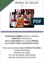 Dependenta de Alcool, proiect