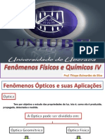 Aula Professor Thiago Fenômenos Físicos e Químicos IV - Cap 2