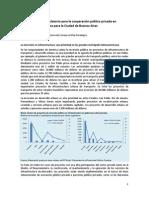 Nota Sobre Asociaciones Público-Privadas en la Ciudad Autónoma de Buenos Aires