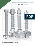 Electrical-Engineering-portal.com-Los Transformadores de Medida CTS VTS en El Sistema