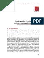 Estado, política, fiscalidad y pactos sociales