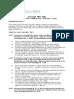 A Cpm Strategic Plan