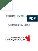 Voto Informado 2014 Sociales