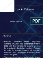 PEMRA BRIEF  HISTORY