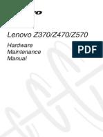 Lenovo Z370Z470Z570 Hardware Maintenance Manual V1.0