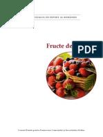 Potentialul de cultura pentru fructele de padure in Romania