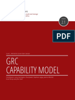 Grc Capability Model Red Book