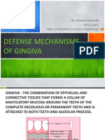 Defense Mechanisms of Gingiva