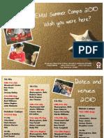EMW 2010 Camps Flyer