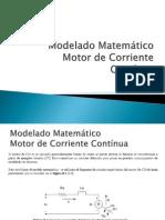 2. Modelado Matemático Motor CC