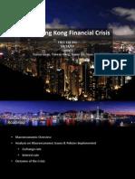 Global Analysis on 1997 Hong Kong Financial Crisis