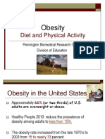 Obesity - Diet and Exercise