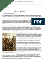 La Primera Independencia Del Perú _ La Historia Pendiente - Yahoo Noticias