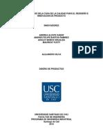 Informe de Desarrollo de Producto
