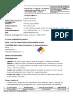 SSM 00 FQ 005 01 FISPQ Hidroxido de Amonio