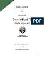 Analisis Caso 1 Derecho Penal 3 Carlos Concha G.