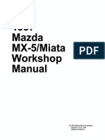 1997 Mazda Mx-5 Miata Workshop Manual