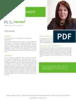 Kelly Heineke, PCG Education Subject Matter Expert