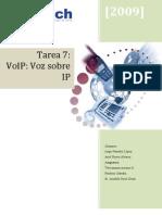 Tarea 7 Teleco2 Voz Sobre IP