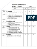 Borang Kontrak Latihan Murid Tahun 2013
