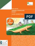 Guía Didactica 2 Básico Lenguaje Diarioeducacion