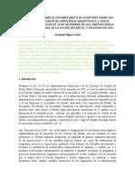 Comentarios sobre la auditoría de Aerolíneas - Armando Miguel Casal