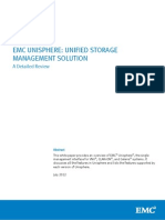 White Paper EMC Unisphere Unified Storage Management Solution