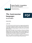 The Austronesian languages  Revised Edition  Robert Blust