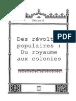 Du Royaumes Aux Colonies